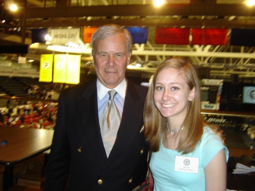 Me and Tom Brokaw