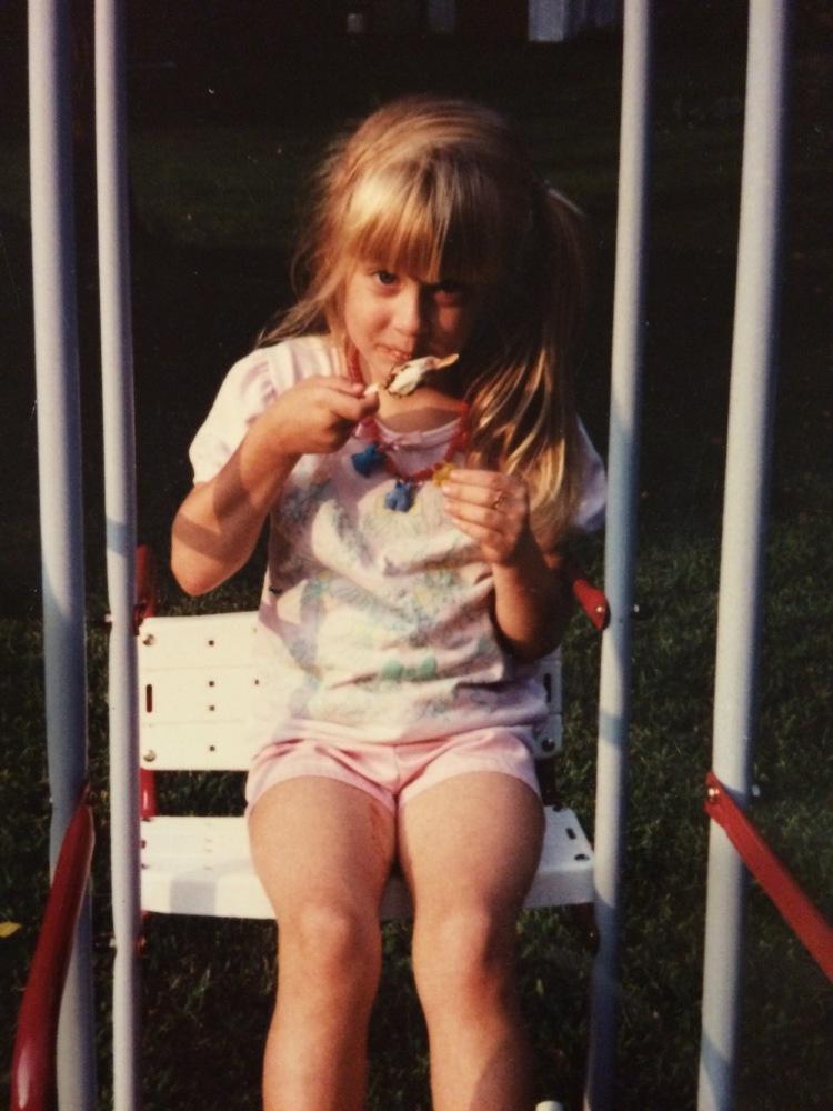 I've always liked sweet treats. Especially ice cream.
